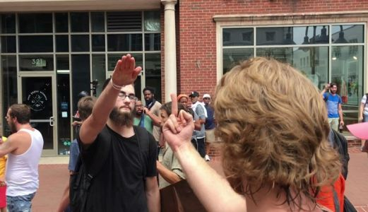 The man who punched the Charlottesville rally organiser was fined $1