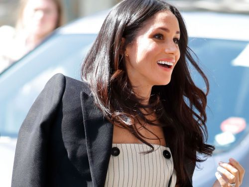 Stop Freaking Out Over Meghan Markle's Shoulders