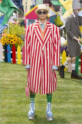 Thom Browne Takes to the Garden with Spring '19 Collection