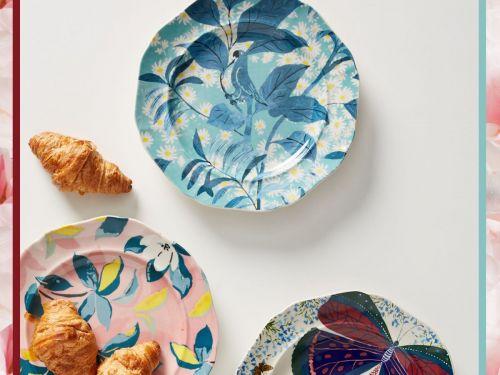 Give Your Home The Royal Treatment With Anthropologie's New Collection