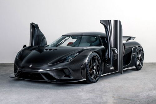 Koenigsegg's Regera Gets the Naked Treatment