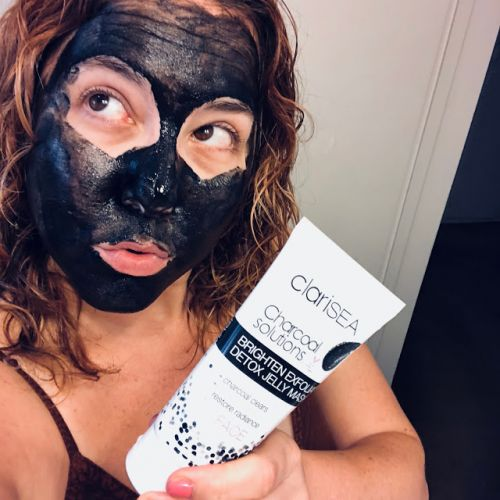 Black Magic: ClariSEA Charcoal Solutions Brighten Exfoliate Detox Jelly Mask