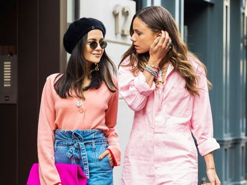 The Chicest Way to Match With Your BFF