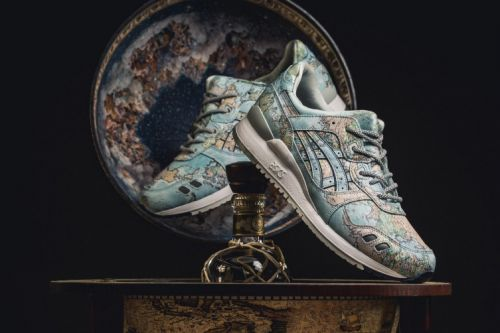 "Atmos & ASICSTIGER Bring the ""World Map"" to the GEL-Lyte III"