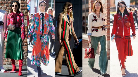 Street Style on Day 1 of Milan Fashion Week Was All Gucci Everything