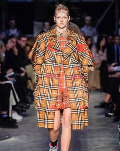 Riccardo Tisci's second Burberry show was a tribute to youth