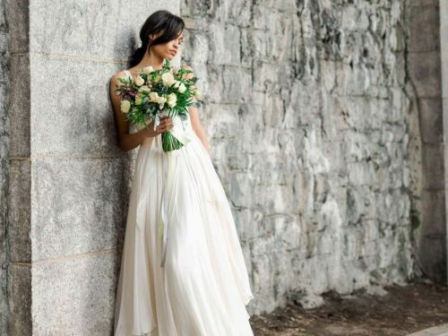 These Are the Best Fabrics for Wedding Dresses