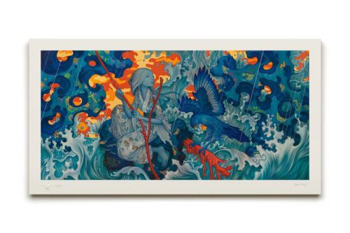 Advent Calendar Day 8: James Jean 'Adrift' Artist Proof Print