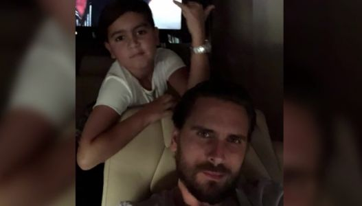 Scott Disick Just Shared the Funniest Father-Son Moment with Mason on Instagram