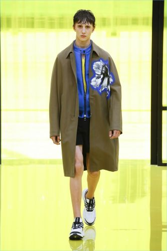 Neil Barrett Does Floral Prints for Spring '19 Collection