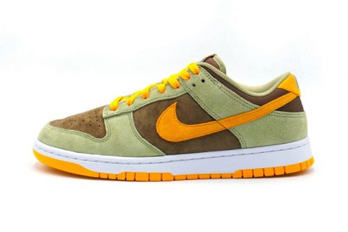 "The ""Ugly Duckling"" Vibes Are Heavy on This New Olive, Gold and Brown Dunk Low"