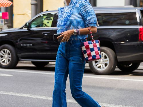 The Fashion Crowd Will Never Give Up on This Denim Trend