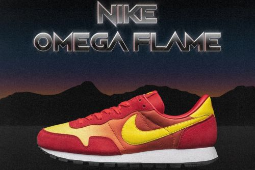 The size?-Exclusive Nike Omega Flame Is Here to Heat up Your Sneaker Rotation
