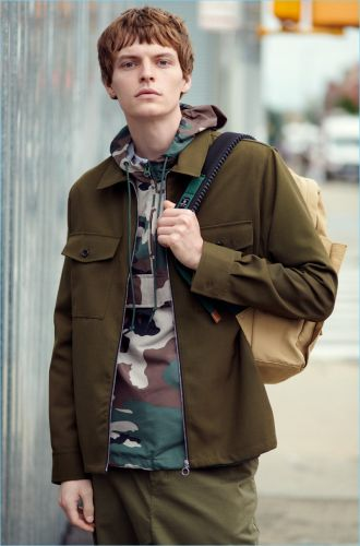 The New Rugged: John Hein Embraces Weekend Style from East Dane