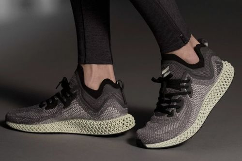 Adidas Gives High-Tech AlphaEDGE 4D Sneaker a Tonal Grey Colorway