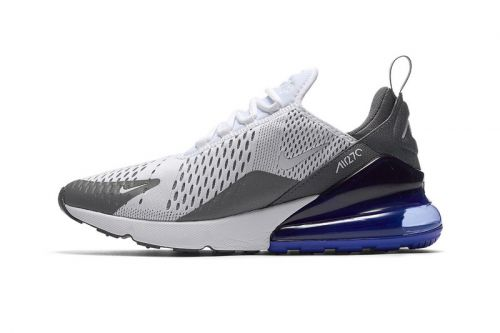 """Nike Air Max 270 Refreshes in """"Grey/Persian Violet"""""""