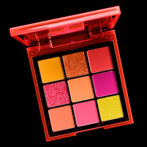 Huda Beauty Neon Orange Neon Obsessions Palette Review & Swatches