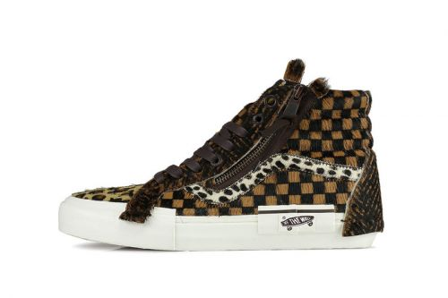 Vans Patches Iconic Sk8-Hi With Different Animal Fur