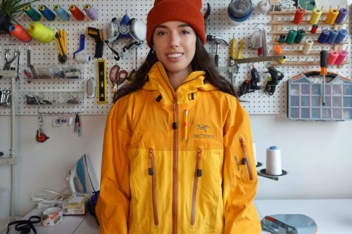 Nicole McLaughlin Is Arc'teryx's First-Ever Design Ambassador