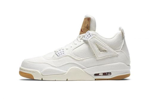 "Advent Calendar Day 13: Levi's® x Air Jordan 4 ""White"""