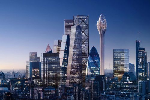 """A 1,000-Foot Glass """"Tulip"""" May Be London's Next Biggest Attraction"""