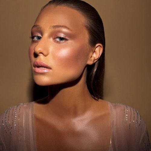 The ultimate glow created by international makeup artist Natasha