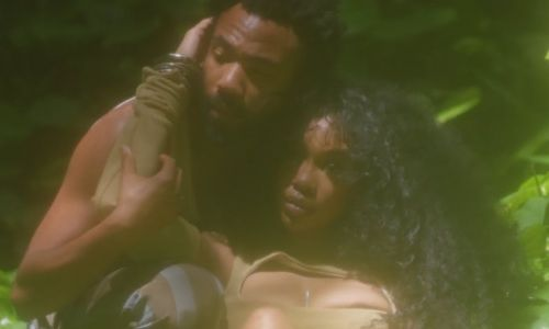 SZA and Donald Glover look divine in the 'Garden' video