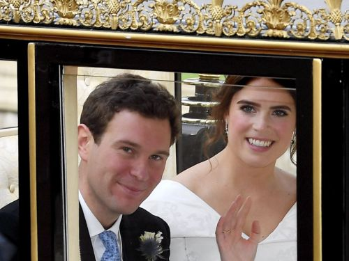 Here's Everything That Happened at Princess Eugenie's Royal Wedding Reception