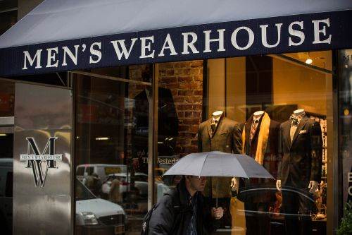 Men's Wearhouse files for bankruptcy as men sport sweats over suits