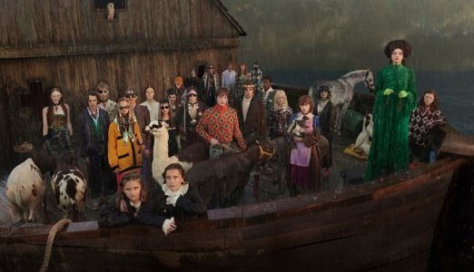 Gucci literally rebuilt Noah's Ark for its latest campaign