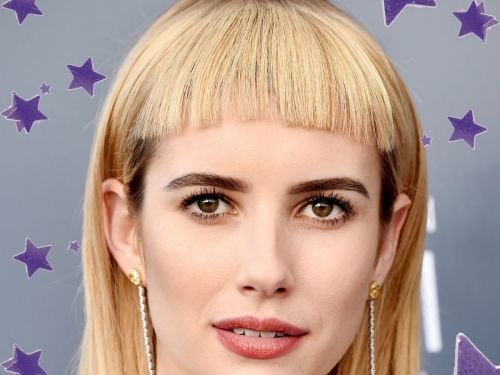 """Emma Roberts Is Living In 2037 With Her New """"Sci-Fi Bob"""""""