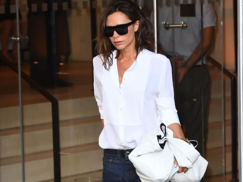 Victoria Beckham Doesn't Always Wear Jeans, But When She Does, They're These
