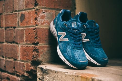 """New Balance Dips Its 990v4 in the """"North Sea"""""""