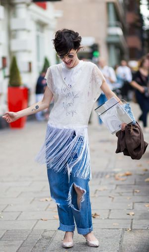 7 Truly Genius Ways to Wear Boyfriend Jeans