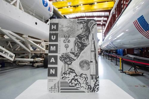 Elon Musk Sent Tristan Eaton's Indestructible Artworks to Space With Crew Dragon