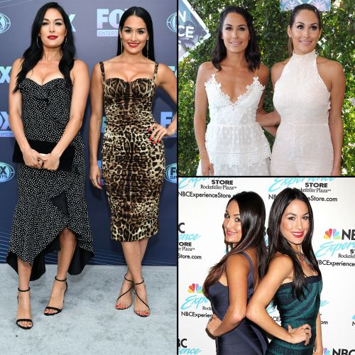 From 'Total Divas' to Today: Nikki and Brie Bella's Best Style Moments