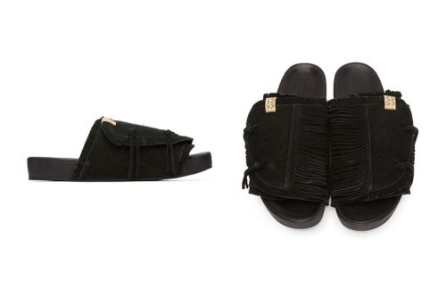 Visvim Crafts Supple Black Suede Shaman-Folk Christos