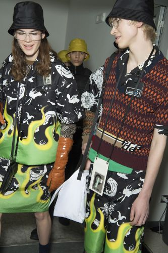 Prada Show Their Men's AW18 Together With Women's Pre-Fall