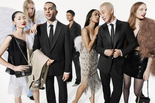 Riccardo Tisci Introduces His First Festive Campaign for Burberry