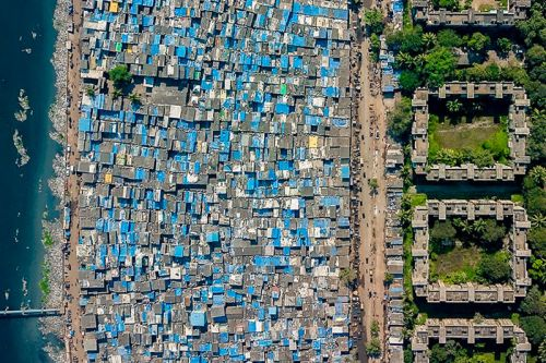 Drone Photography Shows Stark Inequality Around the World
