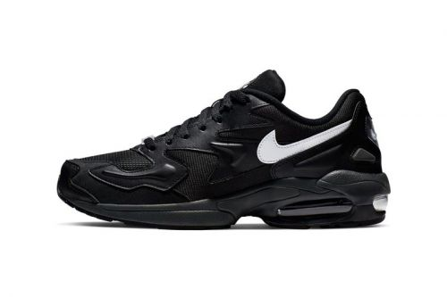 The Nike Air Max2 Light Gets Blacked Out for Latest Release