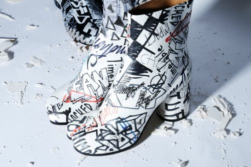 Maison Margiela Releases Graffiti Heavy Capsule Collection