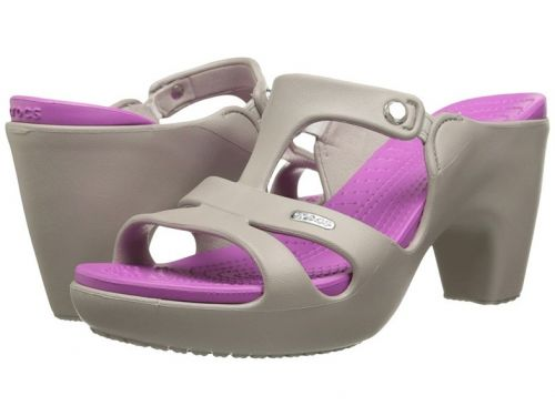 These high-heeled Crocs are already sold out