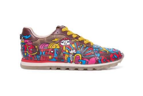 Artist Mindflyer and Coach Debut Singapore-Exclusive C118 Sneaker