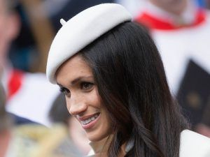 We've Finally Been Given A Glimpse Of Meghan Markle's Wedding Dress
