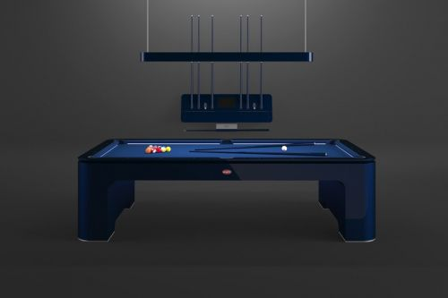 Bugatti and IXO Deliver a $300,000 USD Carbon Fiber Pool Table