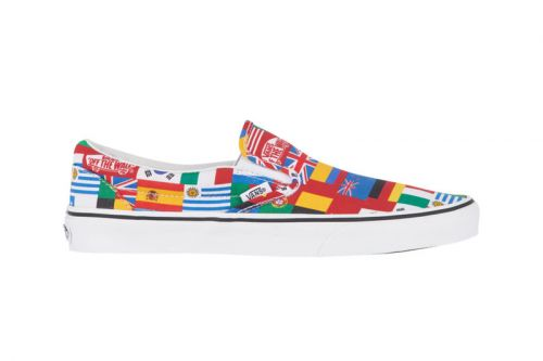 Vans Smothers the Classic Slip-On in a Barrage of International Flags