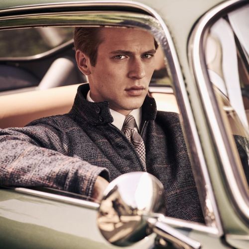Jules Raynal & Oli Lacey Embrace Classic Style for Hackett Fall '18 Campaign