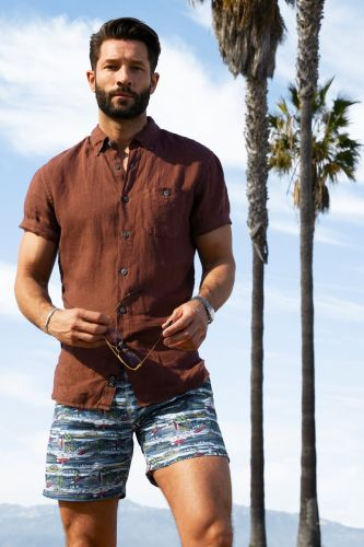 John Halls Models Spring's Best Shirts by Todd Snyder