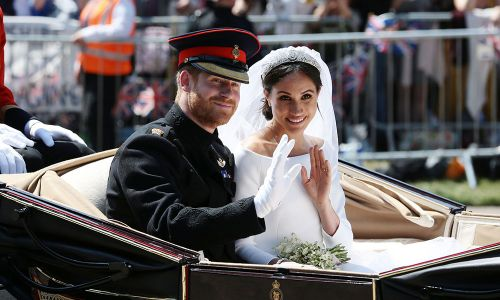 """Prince Harry's Reception Speech to Meghan Markle Was Reportedly """"Very Informal and Very Dear"""""""